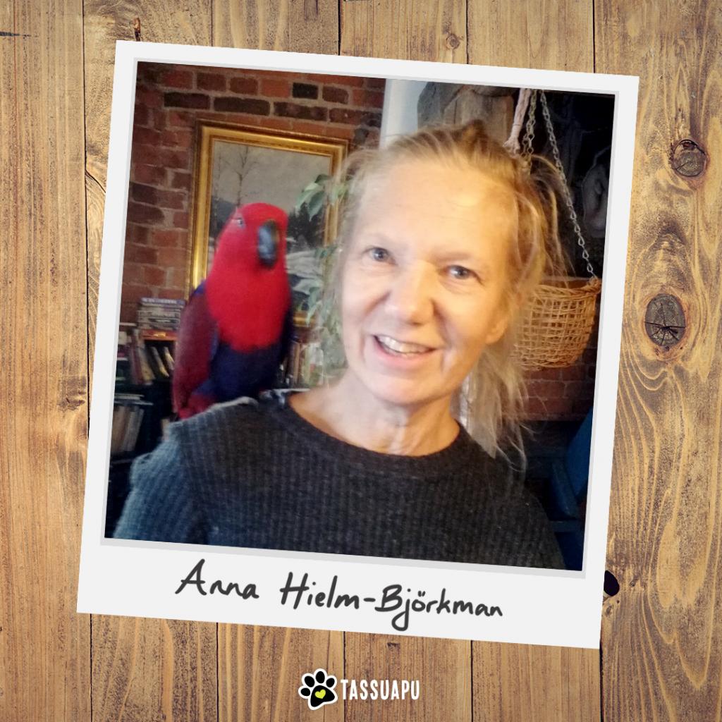 eläinlääkäri Anna Hielm-Björkman